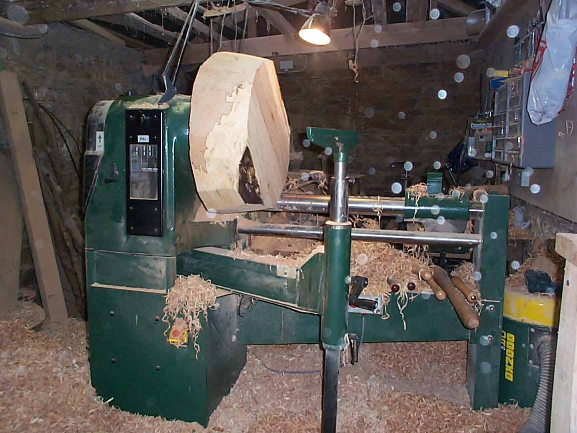 large wood lathe